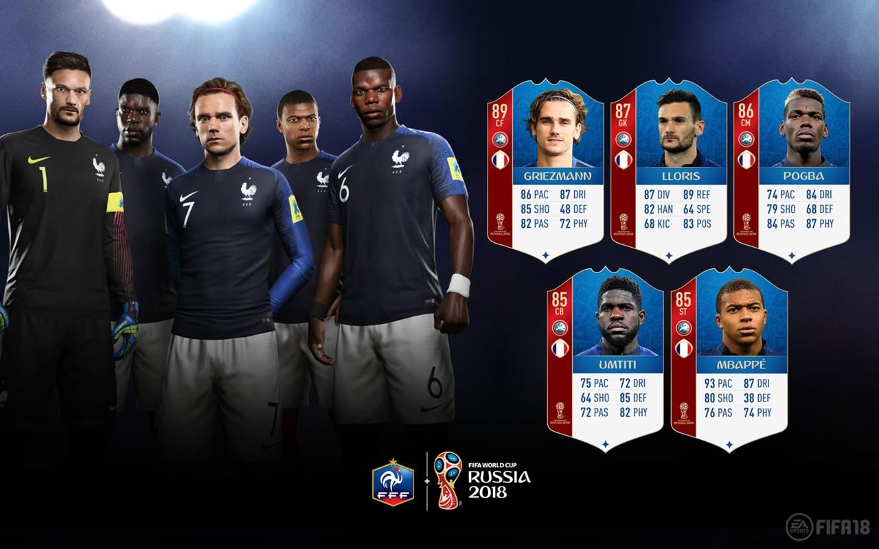 Fifa 18 Wm Modus Ea Sports Veröffentlicht Stärken Der Frankreich