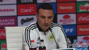 Lionel Scaloni Argentina Conferencia de prensa 21082017