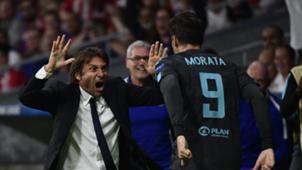 Antonio Conte & Alvaro Morata