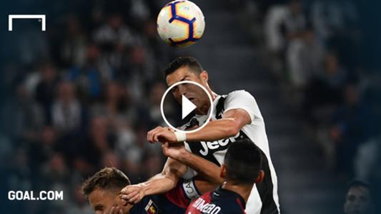 GFX Playbutton Ronaldo Juventus 20102018