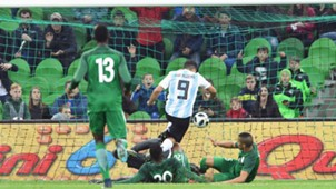 Aguero vs Nigeria