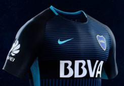 Boca Juniors camiseta alternativa 2017/18