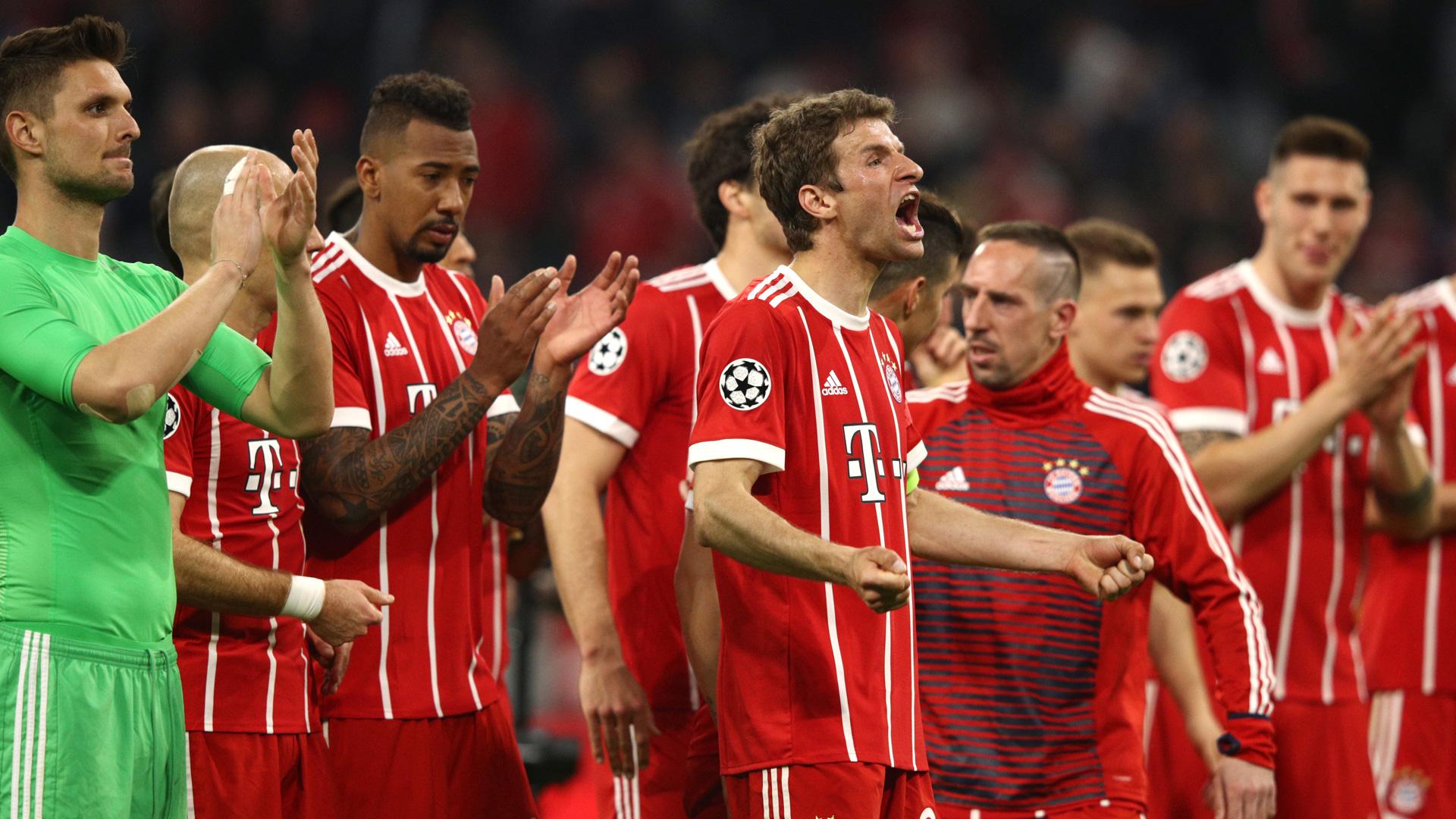 FC Bayern Champions League 0418