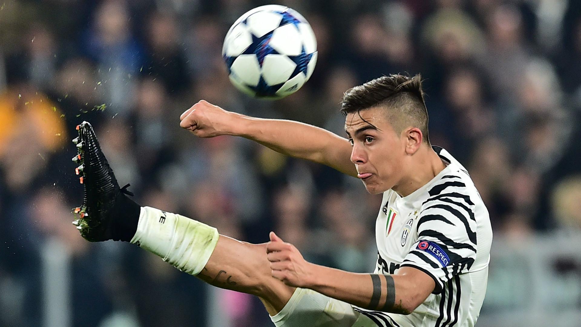 Paulo Dybala Juventus Champions League