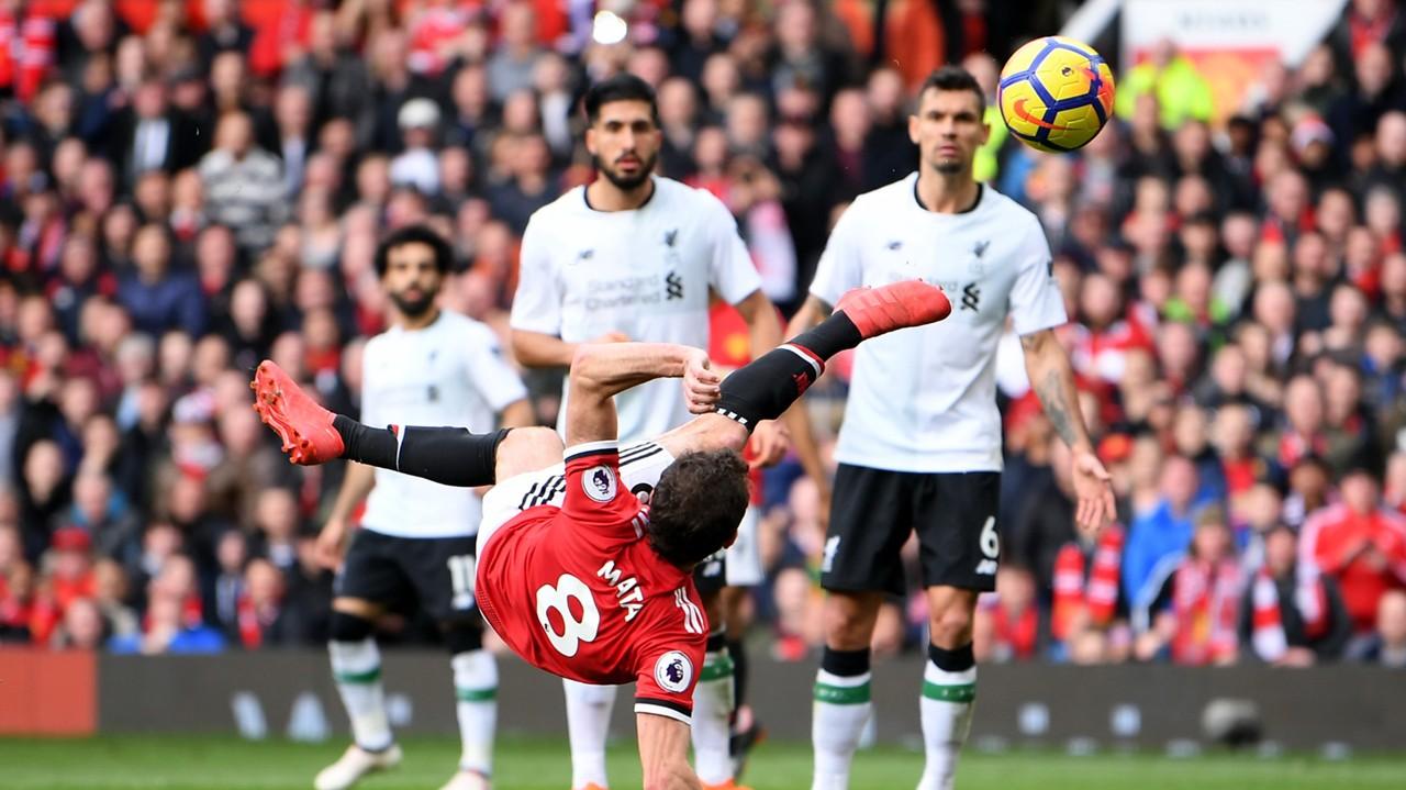 Juan Mata Manchester United Liverpool Premier League