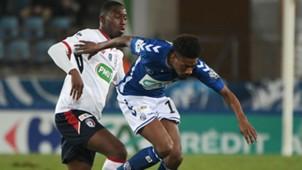 Stephane Bahoken Boubakary Soumare Strasbourg Lille Coupe de France 25012018