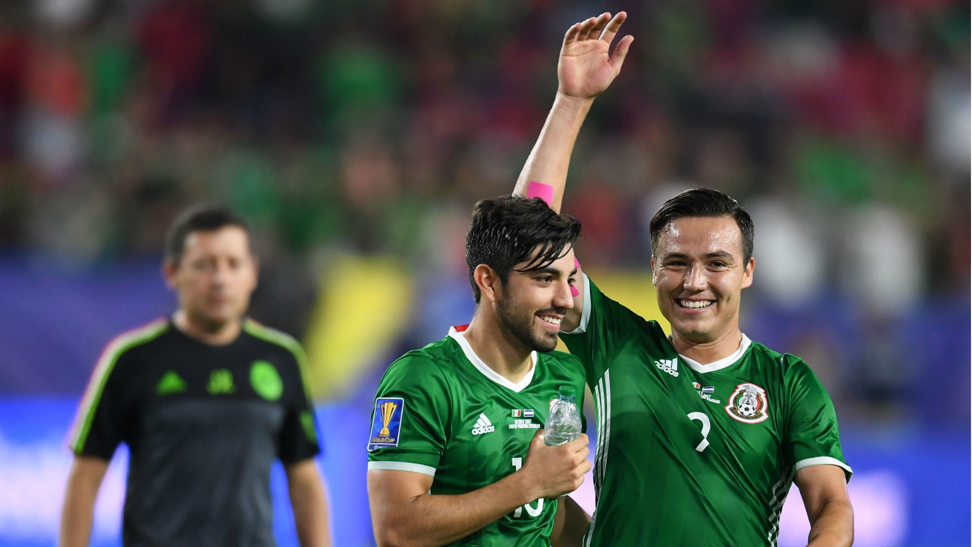 Rodolfo Pizarro Erick Torres Mexico Gold Cup