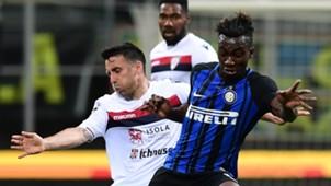 Yann Karamoh Andrea Cossu Inter Cagliari Serie A