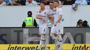 Eintracht Frankfurt Jovic Kostic Rebic 07102018