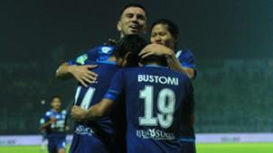 Selebrasi Arema FC