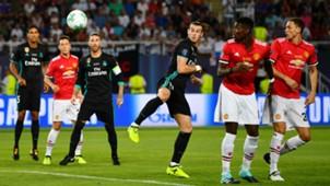 Gareth Bale Paul Pogba Matic Real Madrid Manchester United UEFA Supercup