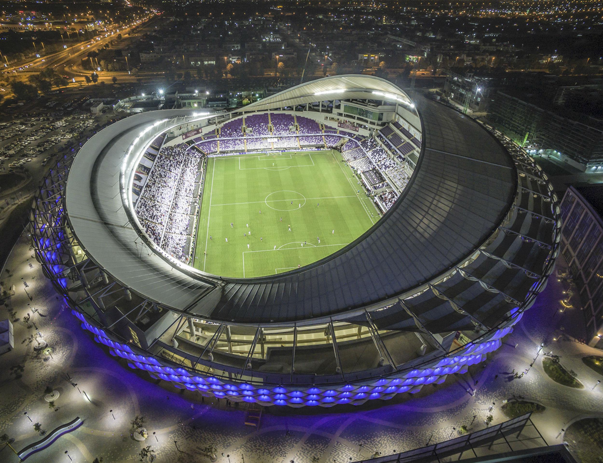 Hazza Bin Zayed Stadium - Al Ain
