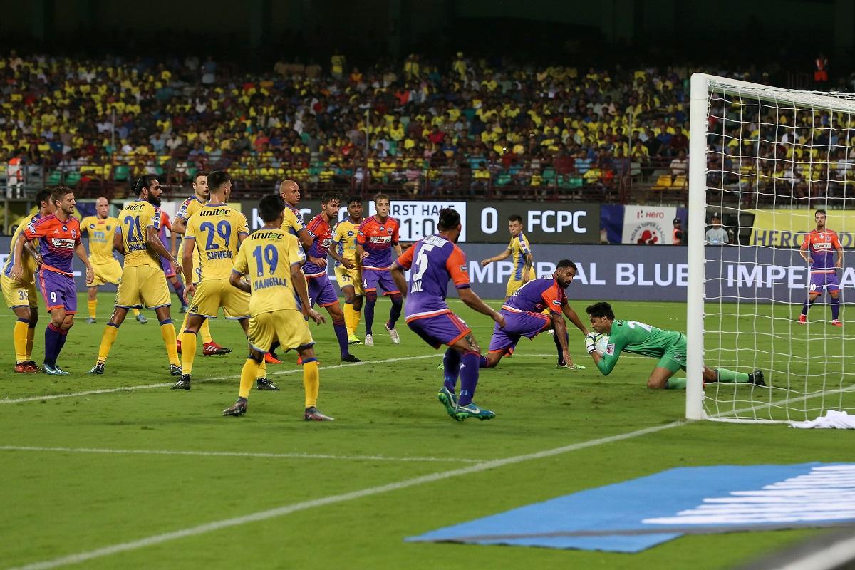 Kerala Blasters vs FC Pune Cit ISL 2017-18