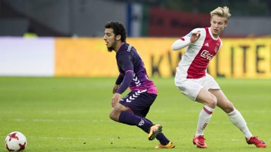 Yassin Ayoub, Frenkie de Jong, Ajax - FC Utrecht, Eredivisie 11052017