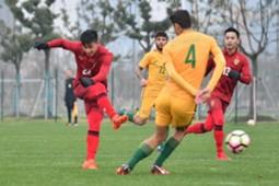 Thailand U23 V Australia U23
