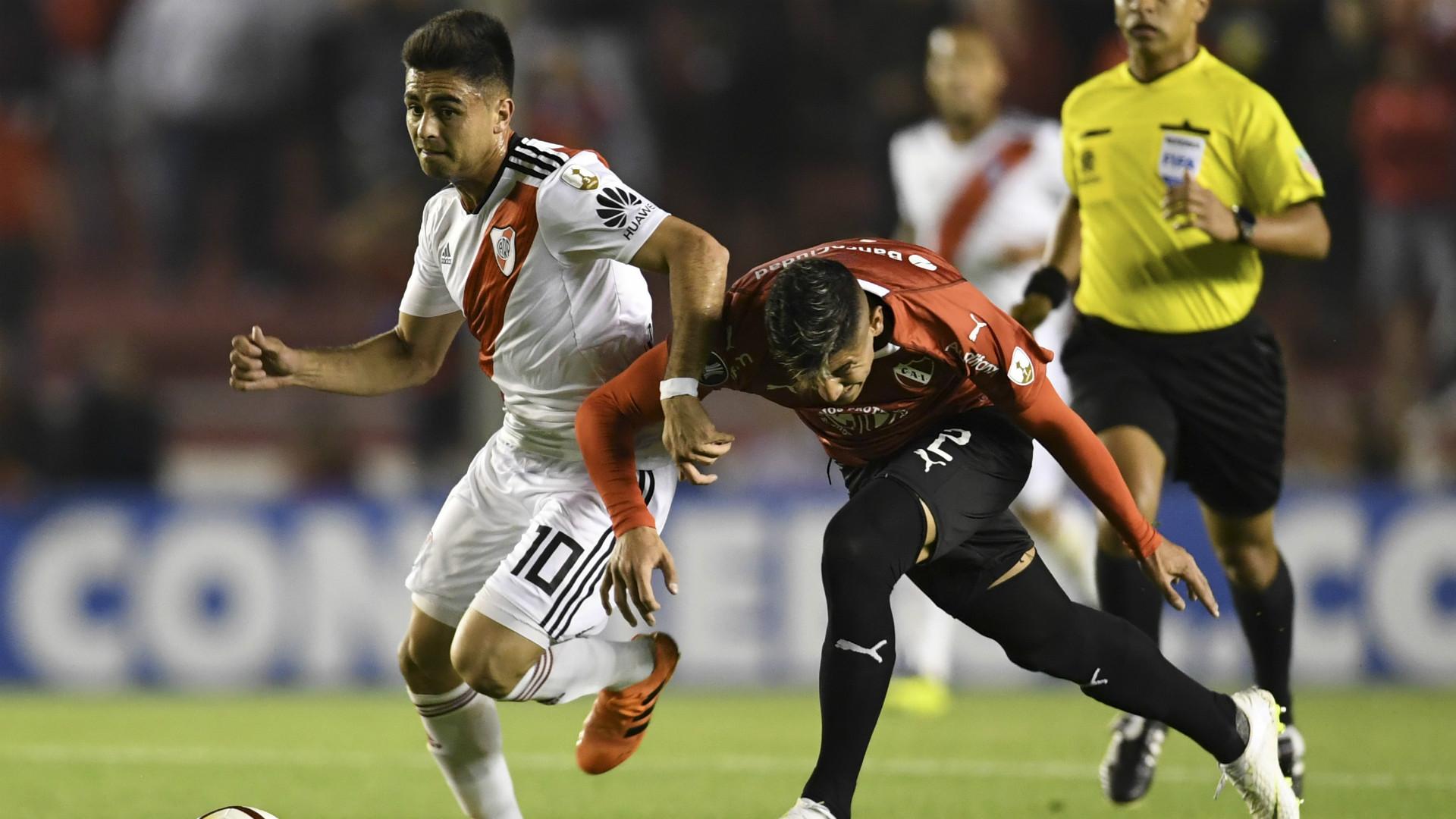 En Avellaneda juegan Independiente-River el partido de Ida