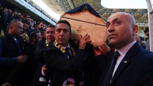 Ali Koc Fenerbahce Koray Sener funeral