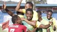 Kariobangi Sharks players celebrates.