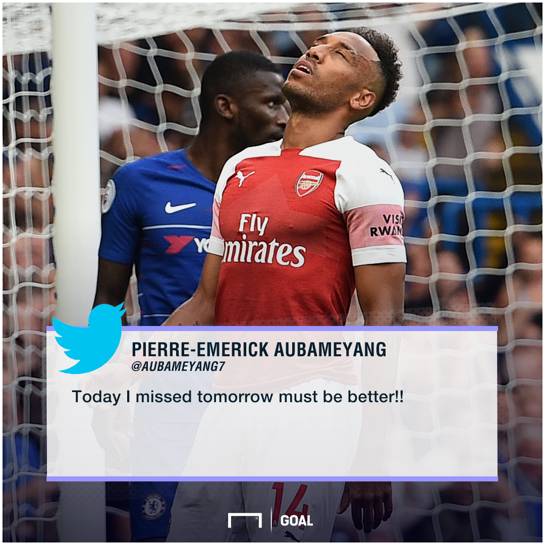 Pierre-Emerick Aubameyang Arsenal must be better Twitter