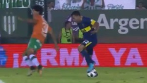 CAPTURA TV Banfield Boca Tevez lujo 180218