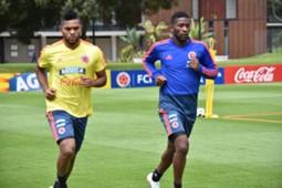 Miguel Borja entrenamiento Selección Colombia