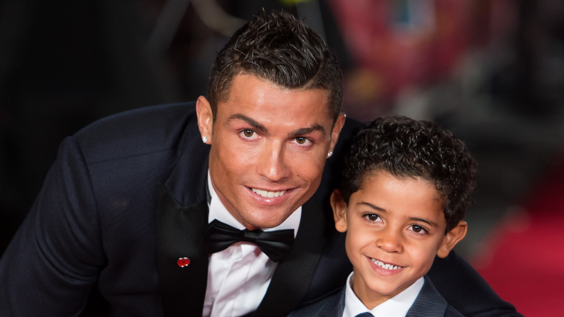 Ronaldo and Cristiano Jr