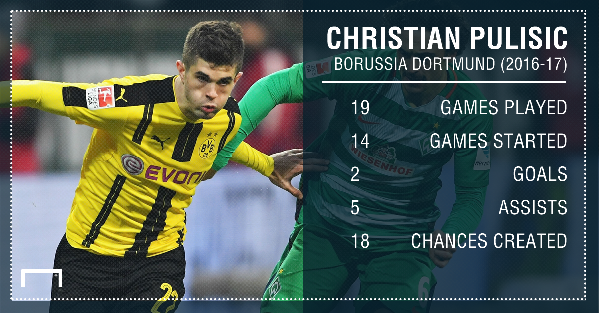 Christian Pulisic Playing Surface