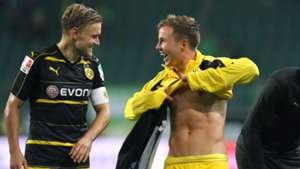 Marcel Schmelzer, Mario Götze, Borussia Dortmund, 09212016