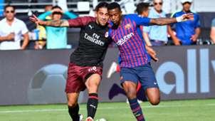 Nelson Semedo Ricardo Rodriguez Barcelona AC Milan ICC 2018