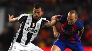 Miralem Pjanic Andres Iniesta Barcelona Juventus UCL 19042017