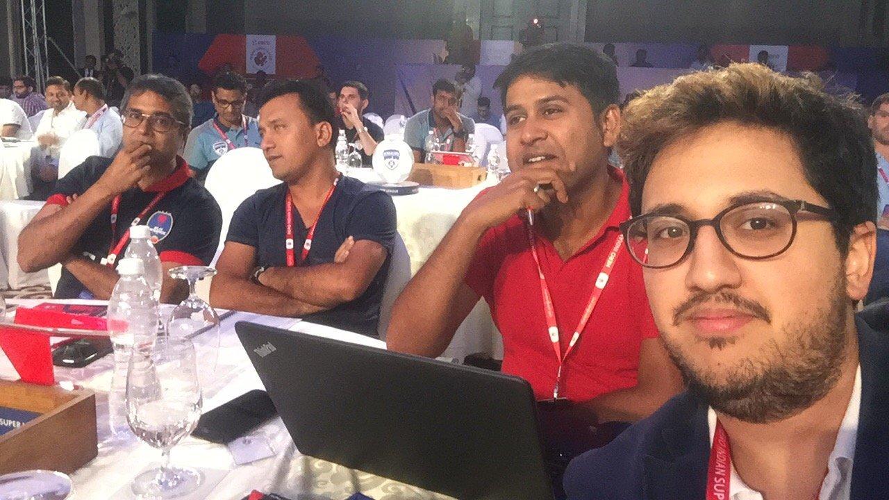 Rohan Sharma Tathagata Mukherjee Delhi Dynamos