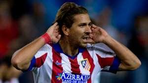 Alessio Cerci with Atletico Madrid shirt