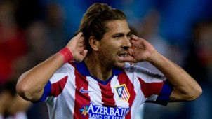 Alessio Cerci with Atletico Madrid shirt