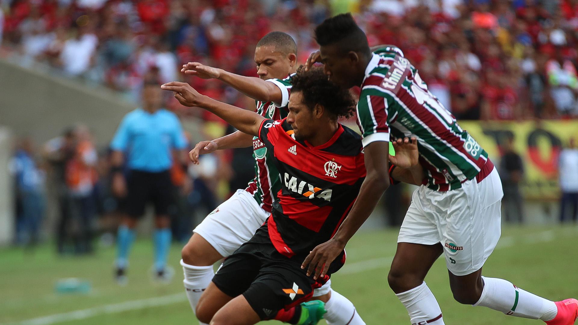 Wellington Willian Arao Fluminense Flamengo Carioca 30042017