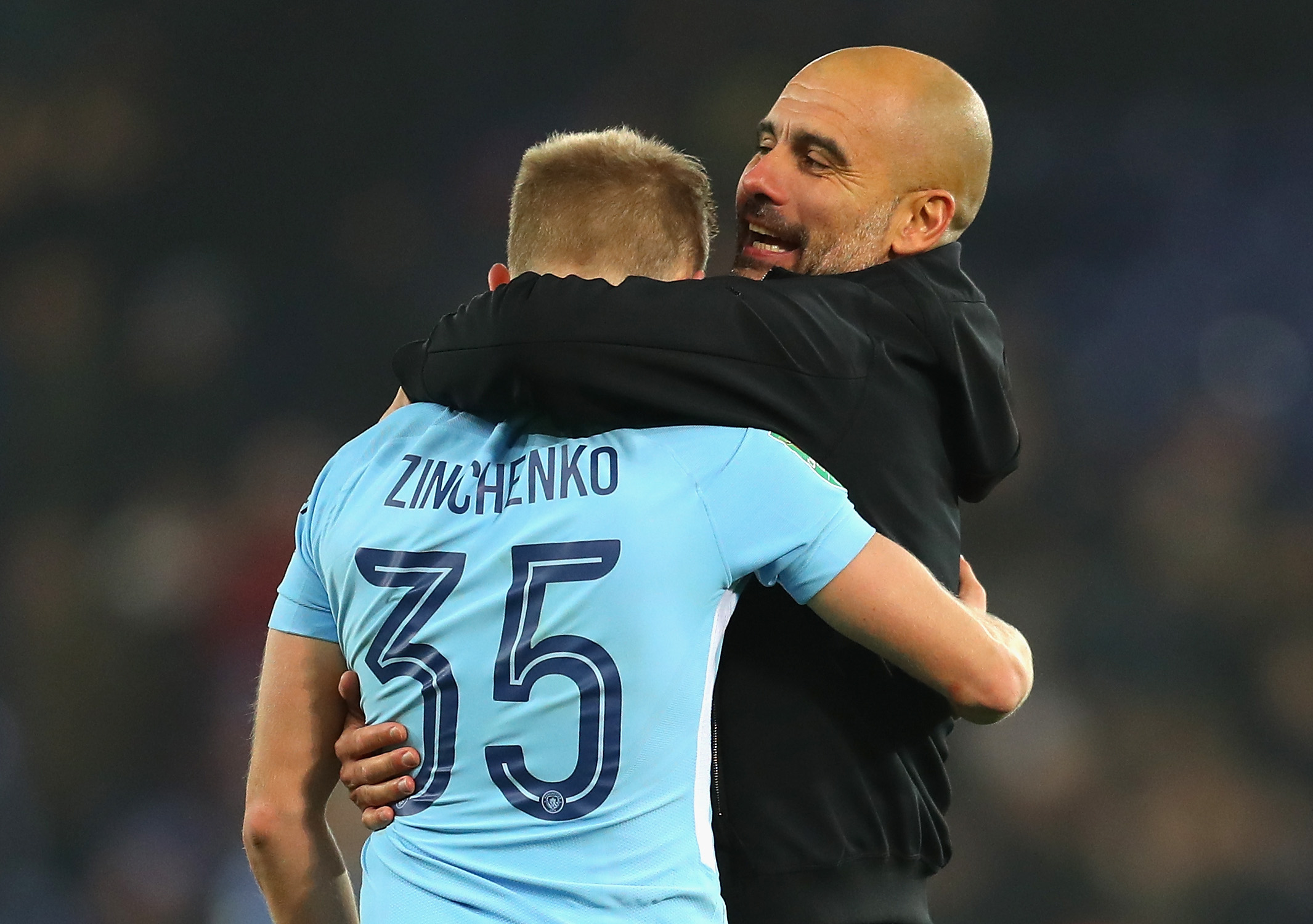 Oleksandar Zinchenko Manchester City