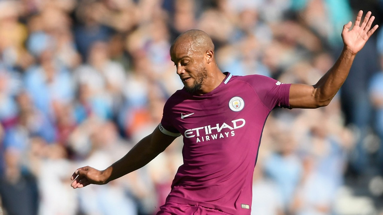 Manchester City captain Vincent Kompany ruled out of Liverpool