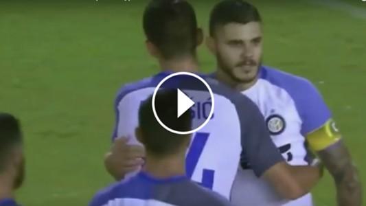 VIDEO PLAY Gol Mauro Icardi Inter Betis 12082017