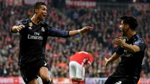 CRISTIANO RONALDO MARCO ASENSIO REAL MADRID UEFA CHAMPIONS LEAGUE 12042017