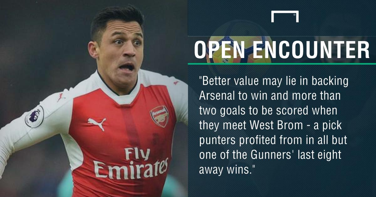 GFX WBA Arsenal betting