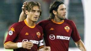 Vincent Candela Francesco Totti Roma