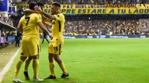 Pavon festejo Boca Juniors Defensa y Justicia Superliga 07042018