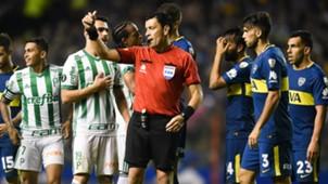 Roberto Tobar Boca Palmeiras Copa Libertadores 2018