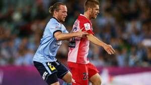 Luke Brattan Rhyan Grant Sydney FC vs. Melbourne City