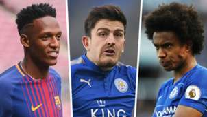 Yerry Mina Harry Maguire Willian