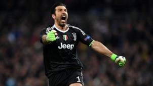 Gianluigi Buffon Real Madrid Juventus UCL