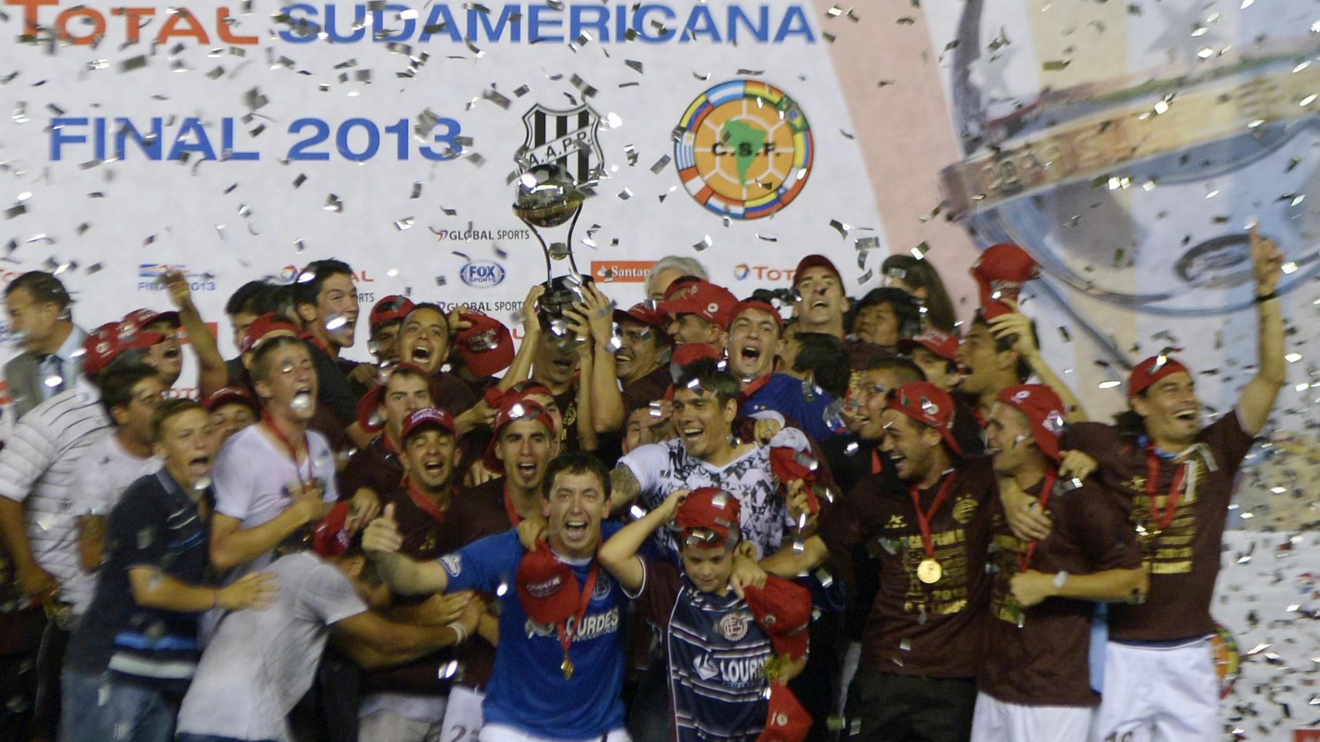 Lanus Ponte Preta Copa Sudamericana 2013