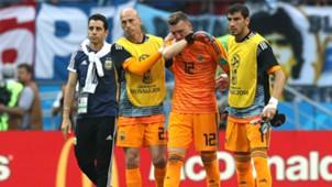 Caballero Armani Guzman Argentina France Francia World Cup  2018 30062018