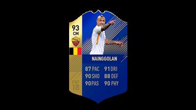 FIFA 18 Calcio A Team of the Season Nainggolan