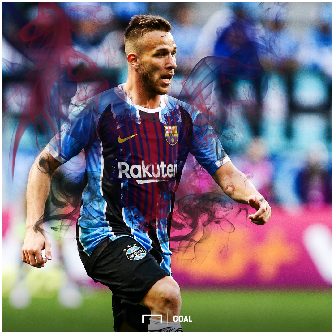 Barcelona confirm agreement over €39m Arthur transfer