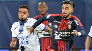 Tristan Dingoume Youcef Ait Bennasser Caen Troyes Ligue 1 28102017